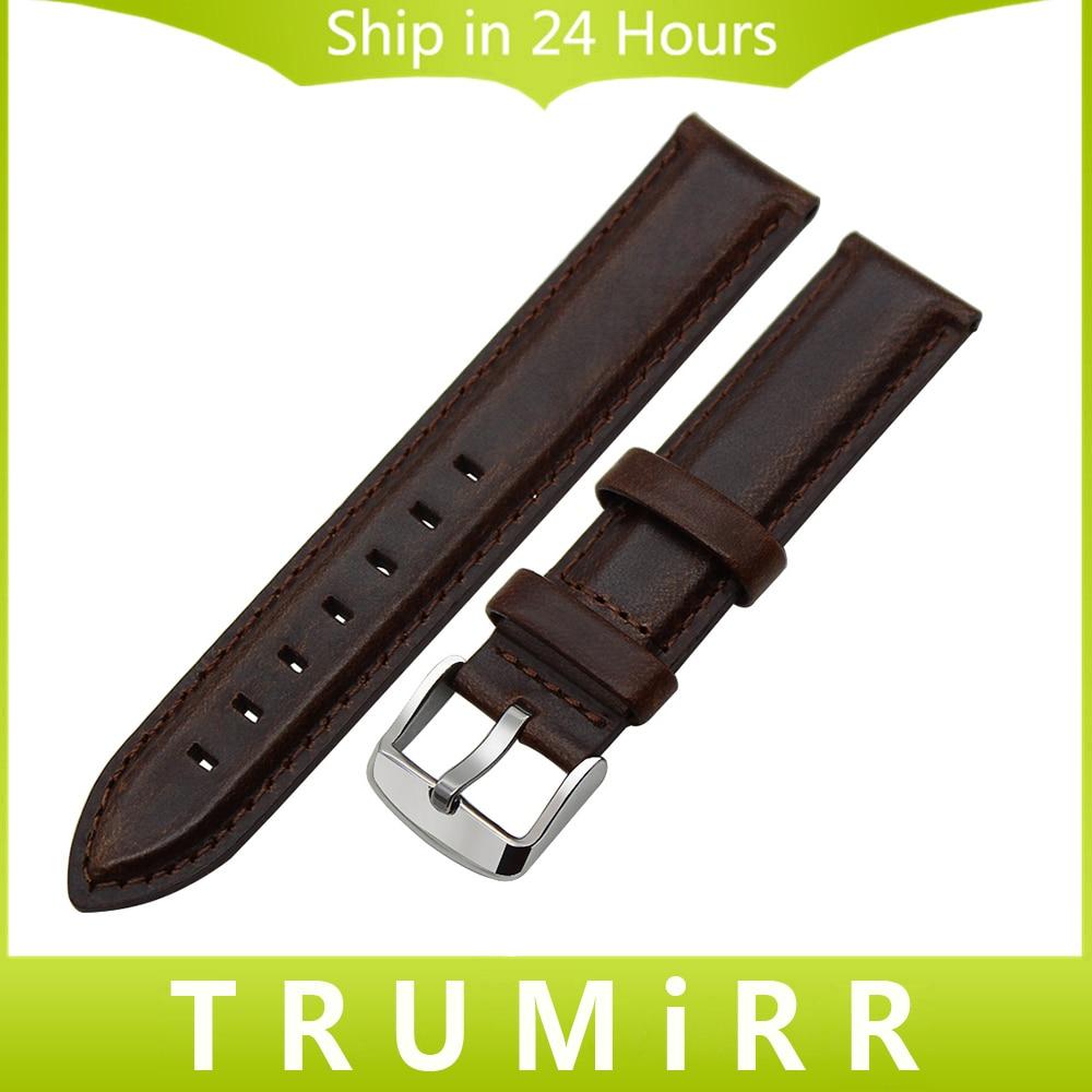 Top Layer Genuine Leather Watchband 13mm 18mm 20mm for Longines L2 L3 L4 Men Women Watch Band Wrist Strap Bracelet Black Brown survival nylon bracelet brown