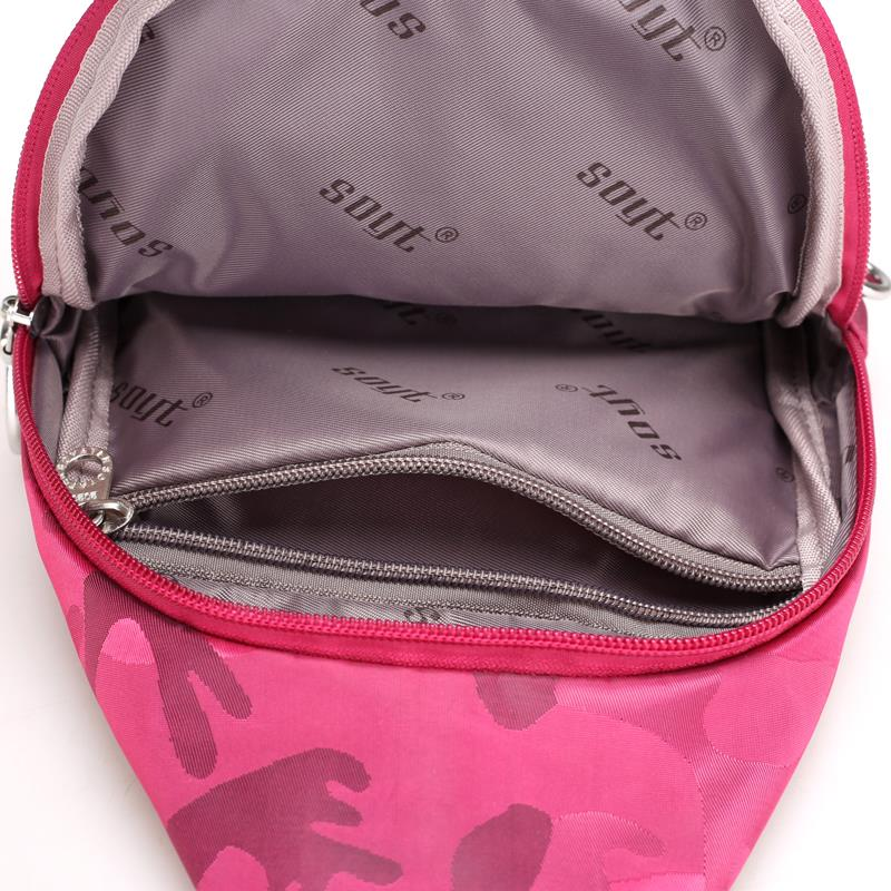 Nylon Chest Pack Waterproof Casual Female Crossbody Shoulder Bag Camouflage Women Messenger Bags Sling Chest Pack Women Bag