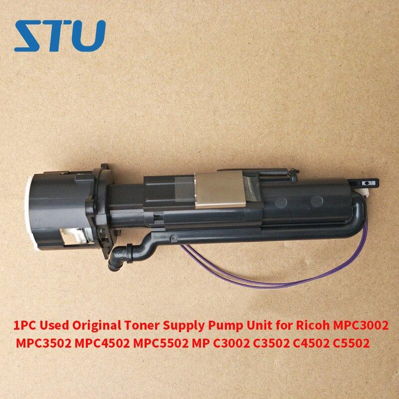 1PC Used Original Toner Supply Pump Unit for Ricoh MPC3002 MPC3502 MPC4502 MPC5502 MP C3002 C3502 C4502 C5502 1PC Used Original Toner Supply Pump Unit for Ricoh MPC3002 MPC3502 MPC4502 MPC5502 MP C3002 C3502 C4502 C5502