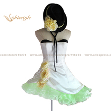 Kisstyle Fashion VOCALOID Camellia Dress Uniform COS Clothing Cosplay Costume,Customized Accepted