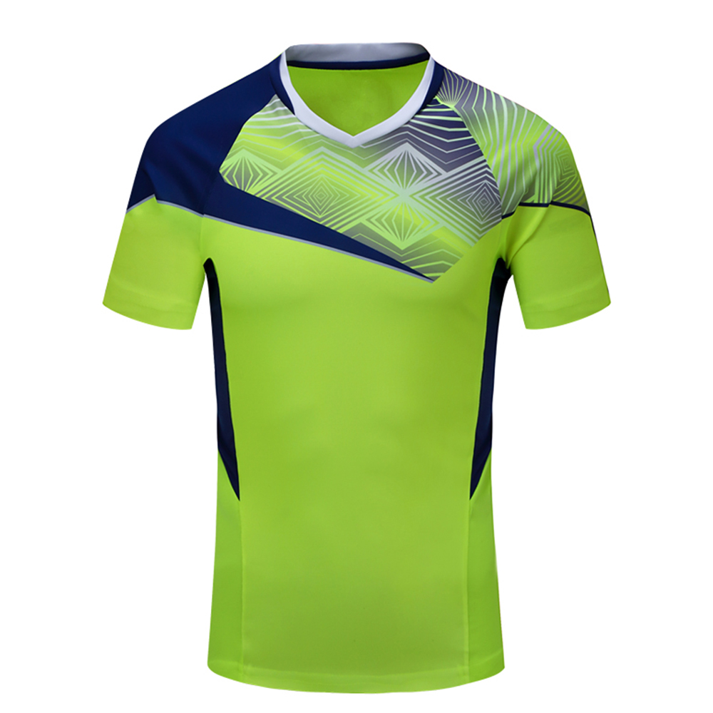 New Sportswear Quick Dry breathable Tennis shirt , Gym Badminton wear shirt , Women/Men table tennis shirt game 1007