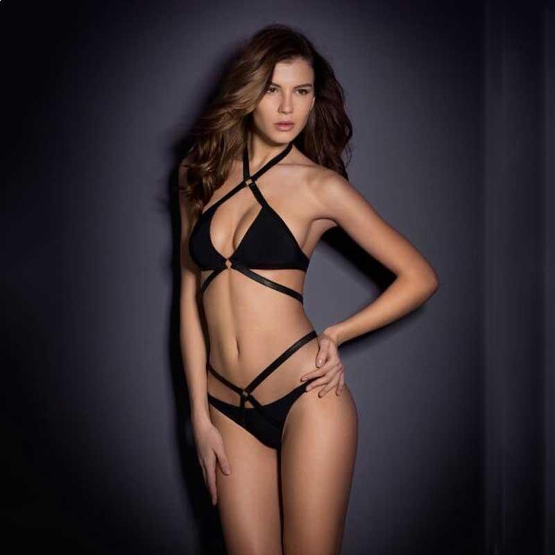 2017 summer style AliExpress hot explosion models sexy Agent Provocateur Bikini woman swimsuit hoop monokini Free Shipping