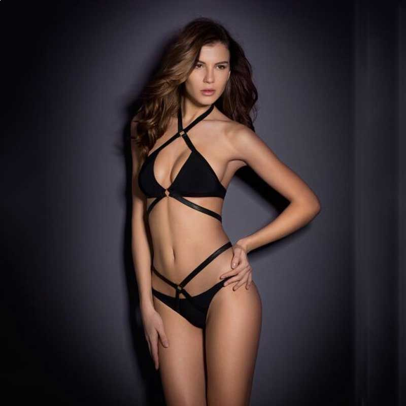 2017 summer style AliExpress hot explosion models sexy Agent Provocateur Bikini woman swimsuit hoop monokini Free Shipping