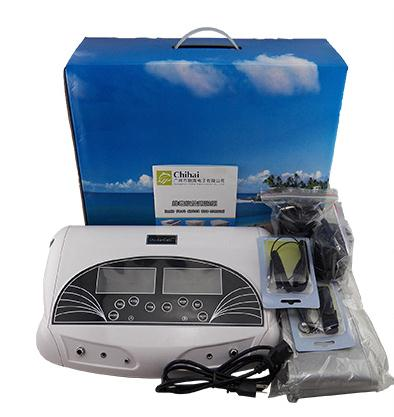 3 in 1 Ionic Detox foot bath Sub-health ionic cleanse SPA machine+infrared ray belt with two person ionic detox through feet popular used in the world foot detox ionic chi spa machine with dual lcd display