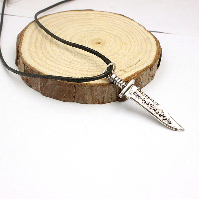 Supernatural Ruby's Knife Necklace Pendant