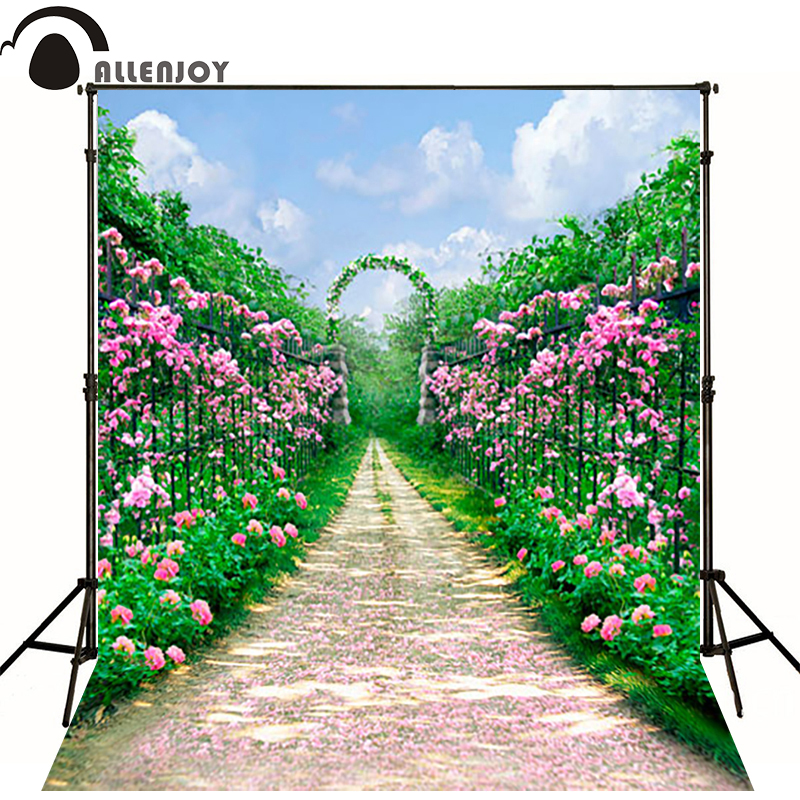 photography background fotografia garden arches road photography backdrops