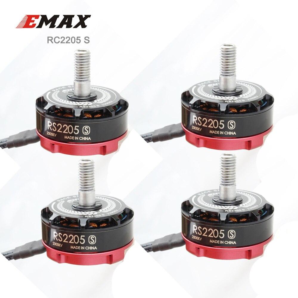4 piezas EMAX Original RS2205 S Motor Brushless para FPV Racing Quad 2300KV/2600KV RS2205S RaceSpec-in Partes y accesorios from Juguetes y pasatiempos    1
