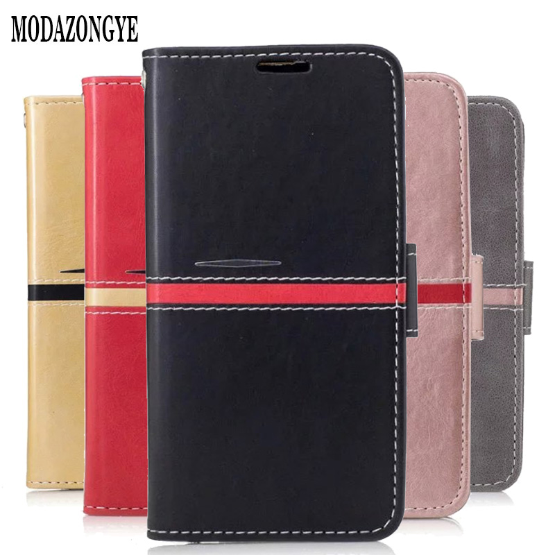 the best attitude 81351 cbf42 For Lenovo K5 A6020 Case PU Leather Back Cover Phone Case For Lenovo Vibe  K5 A6020a40 A6020 a40 A6020a46 Case Silicone Flip Bag