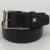 Cinturón de piel de Vaca cuero genuino de la manera 2017 nuevos agings correa masculina casual de negocios Cinturón negro de Alta calidad libre del envío