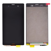 100% Test black For Sony Xperia Z3 L55T L55U D6653 D6633 D6603 LCD Display + Touch Screen Digitizer Assembly free shipping
