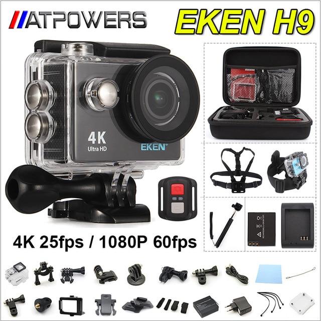 Action camera deportiva Original EKEN H9 / H9R remote Ultra HD 4K WiFi 1080P 60fps 2.0 LCD 170D go sport waterproof pro camera