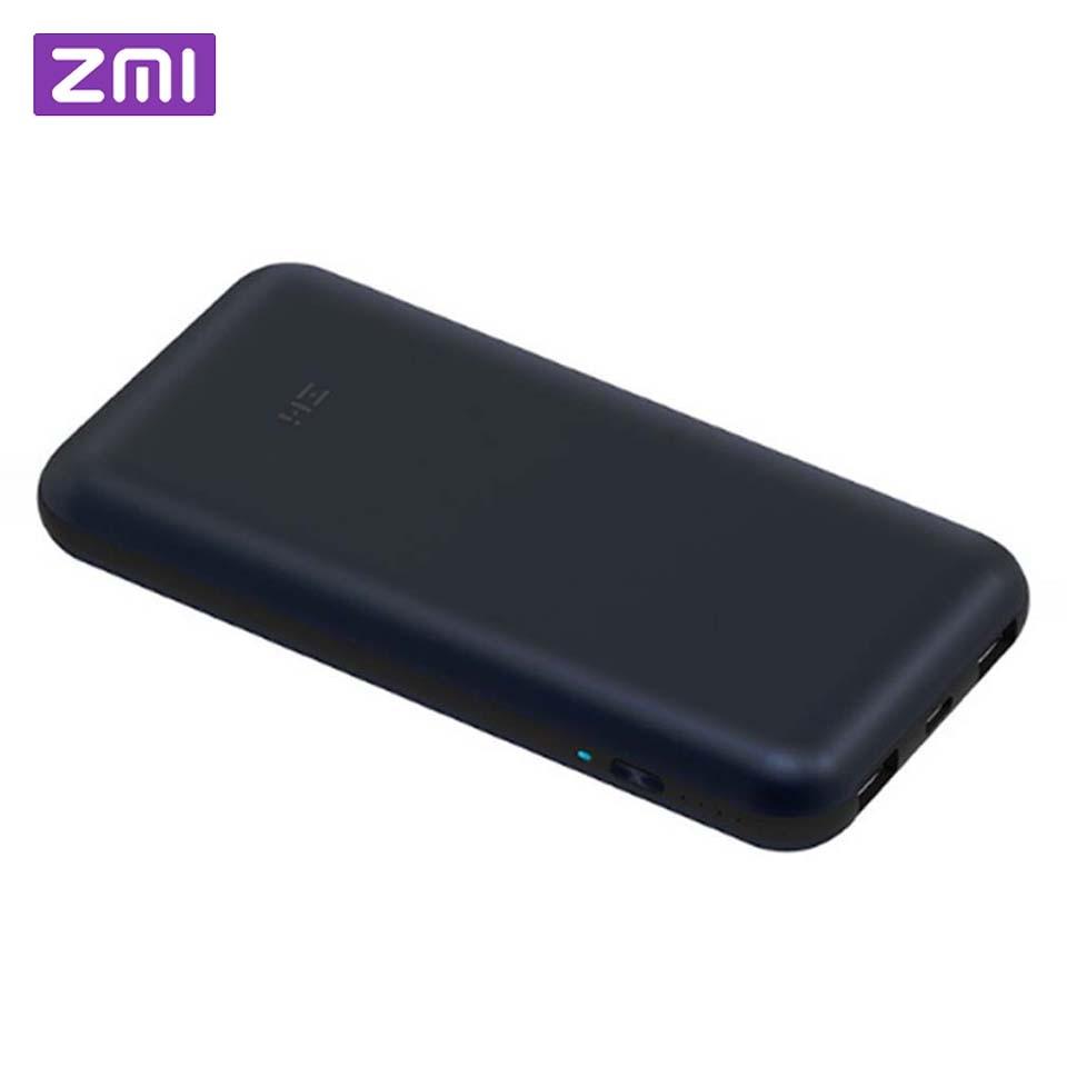 Xiaomi power bank ZMI 20000 мАч 15000 mahUSB-C PD 2,0 внешний аккумулятор Портативная зарядка 3,0 type-C зарядное устройство для Macbook