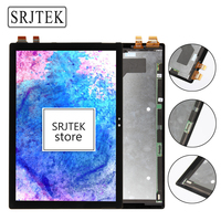Srjtek Parts 12 3 For Microsoft Surface Pro 4 1427 LCD Screen Matrix Touch Digitizer Display