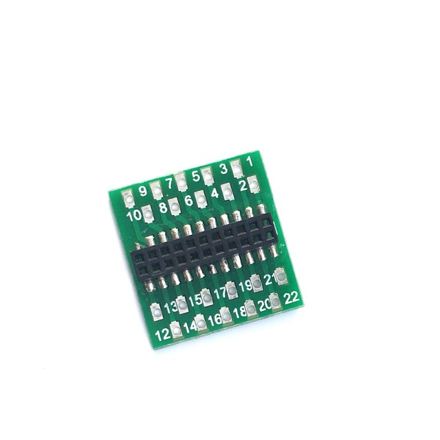 860035 21PIN/21MTC Male to 21Wire Adaptor/LaisDcc Brand