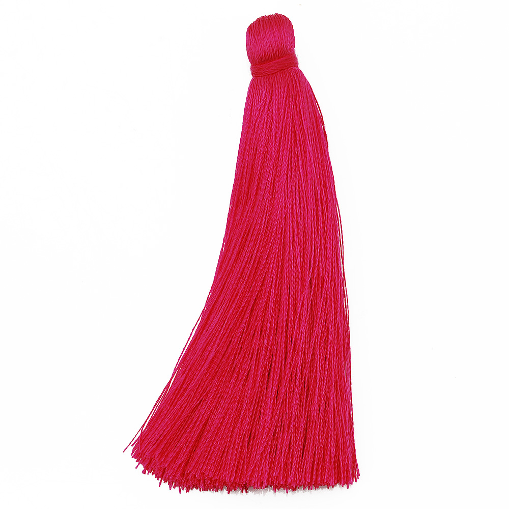 20pcs 8cm Length Stage Clothes Accessories Rayon Tassel Trimming, Roseo Artificial Silk Tassel for Jewelry Making-10055652