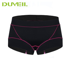 cd84315787b DUVEIL Women Sports Underwear 2Pieces Lot Extreme Perspiration Tighten  Abdomen Run Mountaineering Marathon Sports Shorts. 4 Colors Available