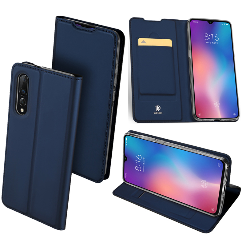 Original Dux Ducis Pu Leather <font><b>Case</b></font> For <font><b>Xiaomi</b></font> <font><b>Mi</b></font> <font><b>9</b></font> T9 Pro Coque Luxury Thin <font><b>Flip</b></font> Cover For <font><b>Xiaomi</b></font> <font><b>Mi</b></font> <font><b>9</b></font> 9T GO <font><b>Wallet</b></font> Phone <font><b>Cases</b></font> image