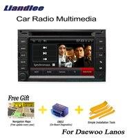 Liandlee For Daewoo Lanos 1997~2002 2 din Car Android Navi Navigation GPS Radio TV CD DVD Player Audio Video Stereo Medai OBD2