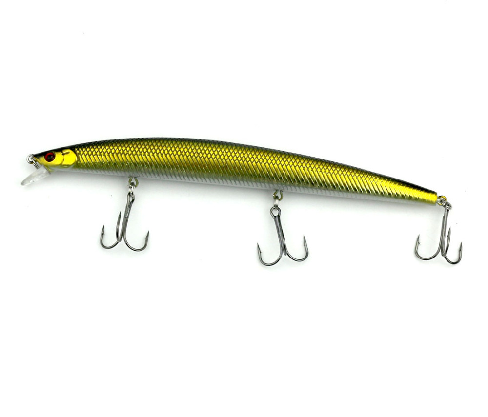 HENGJIA minnow fishing lures diving wobbler pike trout perch crappie - თევზაობა - ფოტო 5