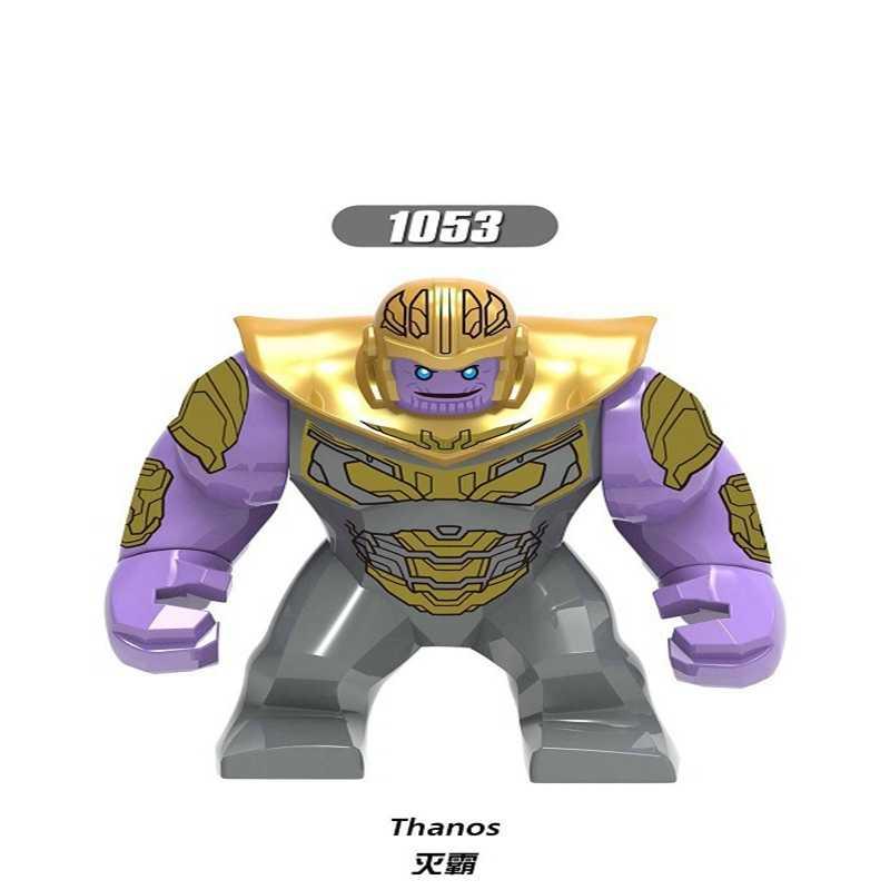 Legoing Endgame Hulk Homem de Ferro Brinquedos Mavel Avengers Super Hero Figuras Mavels Figuras Bricks Blocos Crianças Presentes Thanos