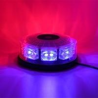 16 LED Car Roof Flashing Light Durable 12V Automobile Magnetic Emergency Lamp Portable Hazard Warning Strobe Light