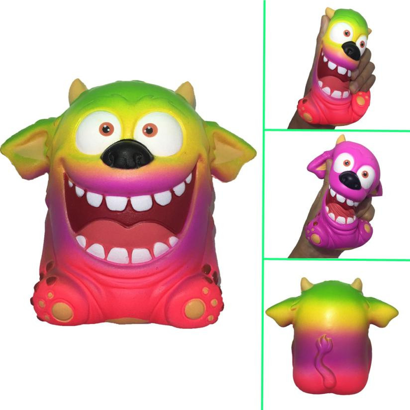 squeeze squishe Adorable Monster kids toys Scented Charm Slow Rising Stress Reliever funny 2MAYT29