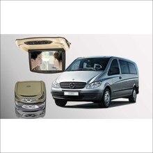 Bigbigroad для Benz Vito крыше автомобиля установлен в автомобиле Мониторы светодиодный цифровой Экран Поддержка HDMI USB FM ТВ игры ИК дистанционного флип Подпушка DVD