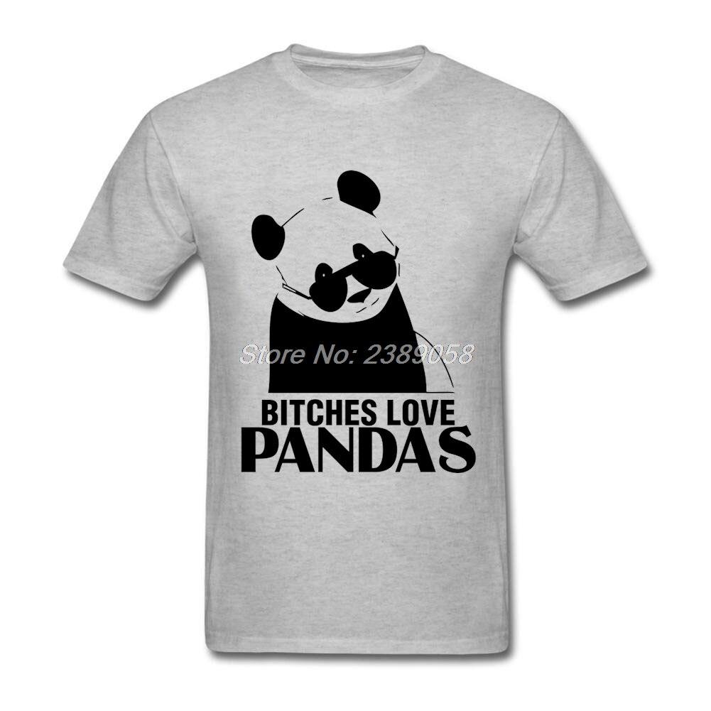 New arrival men custom made t shirts love pandas luxury for Custom made tee shirts