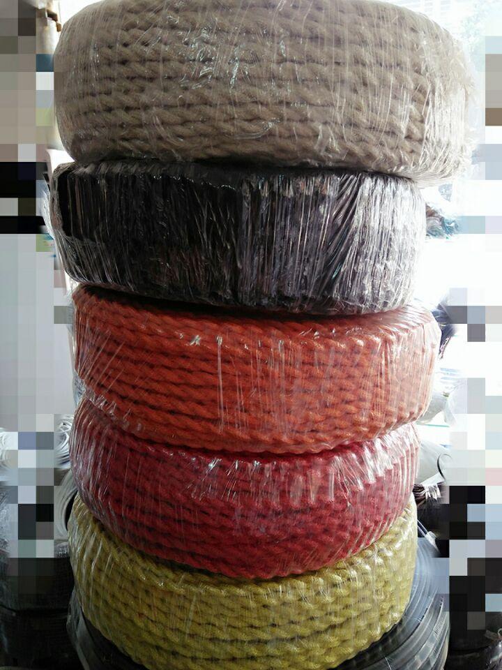 100 m 2x0.75 Vintage corde fil torsadé câble rétro tressé électrique fil de tissu bricolage lampe pendante fil vintage lampe cordon
