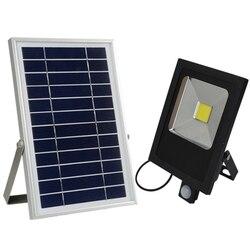 All'aperto Luci solari Luci del Giardino Impermeabile Lampada di Illuminazione Due Modalità di Lavoro Con Telecomando Luce del Sensore di Movimento