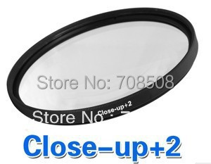 [Free shipping ]52mm Macro Close-up +2 Close Up filter for Canon/Nikon/Sony/Pentax
