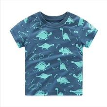 VIDMID baby boy t-shirt big boys tees t shirts children blouse t-shirts cars dinosaur kids summer clothes 2-10 years brand