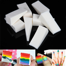 16Pcs Triangle Nail Art Transfer Sponge Gradient Stamping Painting DIY Soft Ombre Colour Varnish Polish Manicure