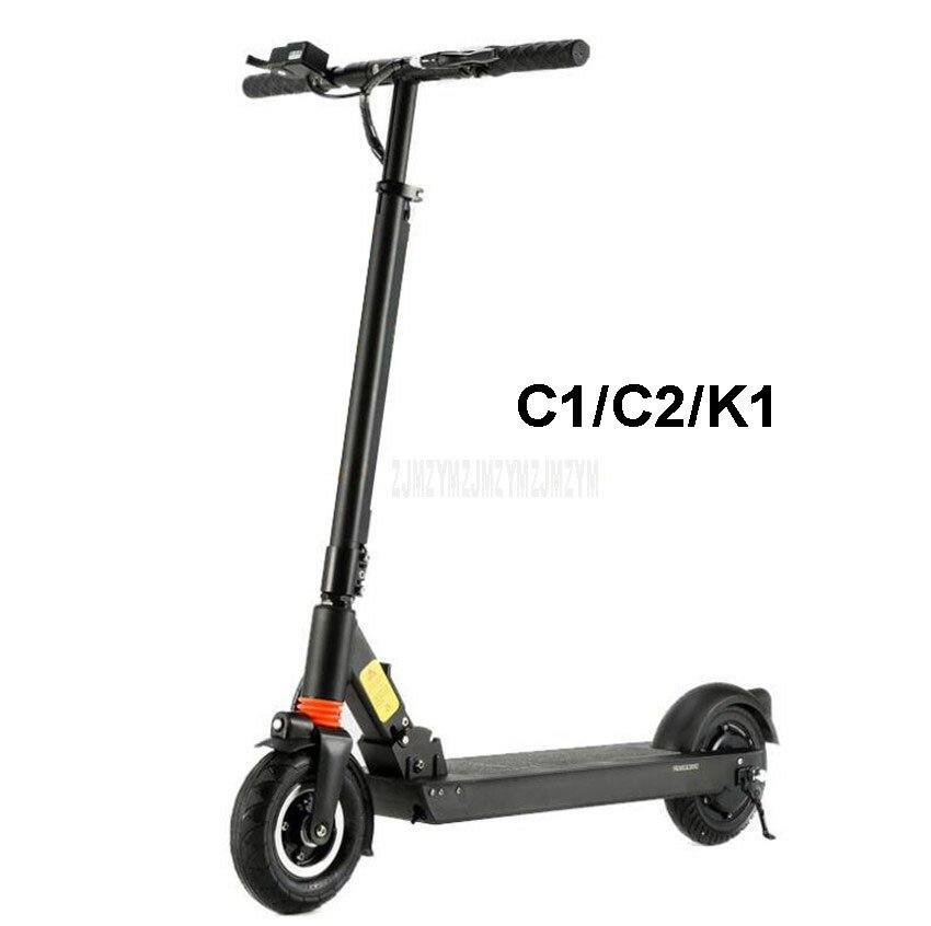 C1/C2/K1 Scooter électrique pliable intelligent à deux roues Kick Scooter vélo planche à roulettes électrique pour adulte kilométrage 15 km/30 km/35 km