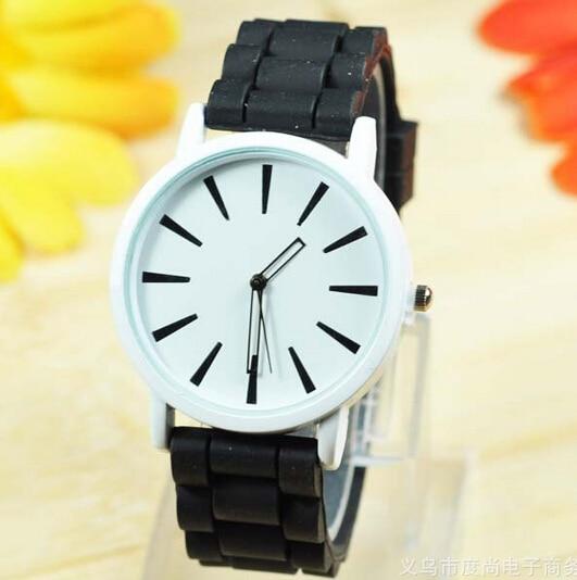 Mens Watch Quartz Wholesale Fashion Brand Low 10-Colors 1pcs/Lot Rubber 1-Price New