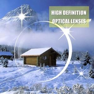 Image 5 - SWOKENCE SPH  0.5 To  4.0 Photochromic Grey Sunglasses Glasses For Myopia Men Women Foldable Spectacles For Nearsighted SC99