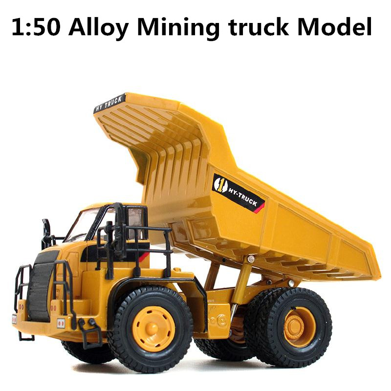 1:50 Alloy Engineering Vehicles, High Simulation Model Of  Mining Machinery  ,children's Educational Toys, Free Shipping