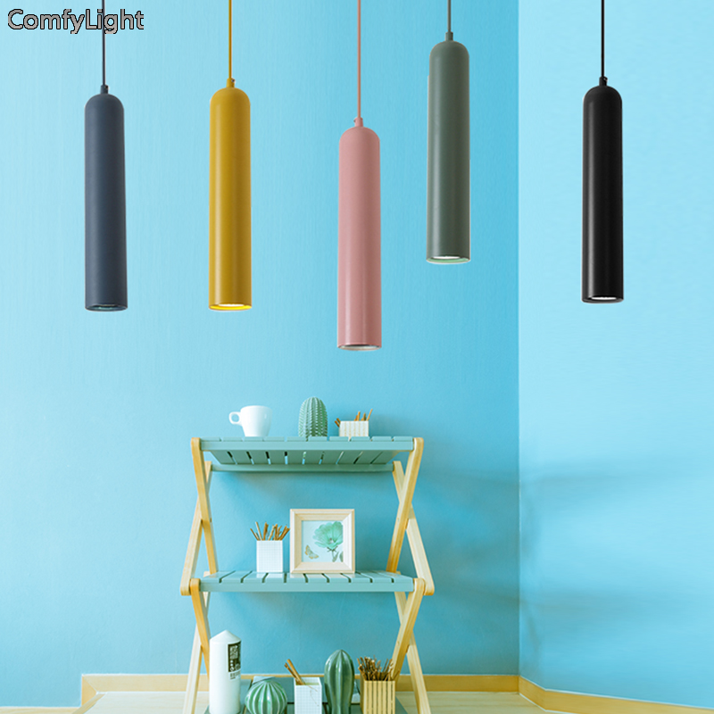 Nordic led Pendant Lights 5W Modern led Pendant Lamps iron Hang Lighting Kitchen/dining-room/bar Counter/Restaurant pendant Lamp new 1685pcs lepin 05036 1685pcs star series tie building fighter educational blocks bricks toys compatible with 75095 wars