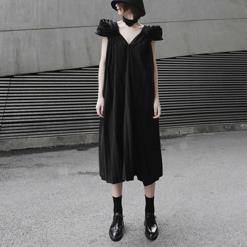 2019 летнее женское однотонное белое плиссированное платье без рукавов миди с открытой спиной размера плюс женские знаменитые Сексуальные вечерние платья макси платье 9001