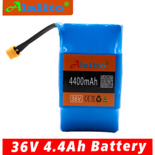 Alalito 36V 4.4Ah 4400 mAh high drain 2 wheels, Electric scooter balancing 18650 lithium battery pack for self-balancing fit(China)