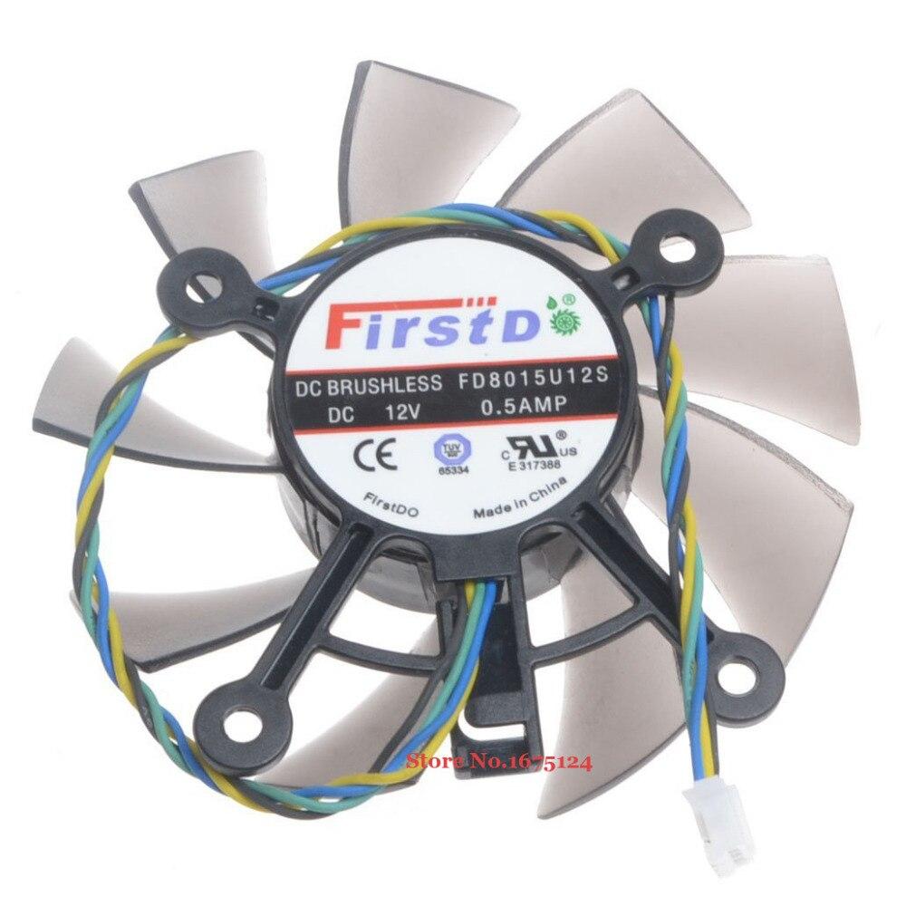 Productos de gestión térmica Ventilador de vídeo PLA08015S12HH 12 V 0,35 A 4 cables