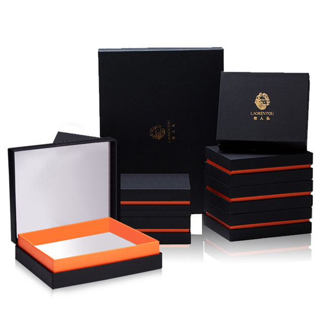 LAORENTOU Original Brand High Quality Short or Long Gift Box For Women&Men's Wallet Just an Empty Box Without Wallet
