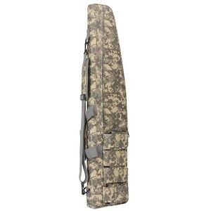 Image 3 - Охотничьи сумки 70 см/100 см/120 см, тактический Водонепроницаемый чехол для хранения винтовки, рюкзак, сумка для военного оружия, сумка для страйкбола, аксессуары для охоты