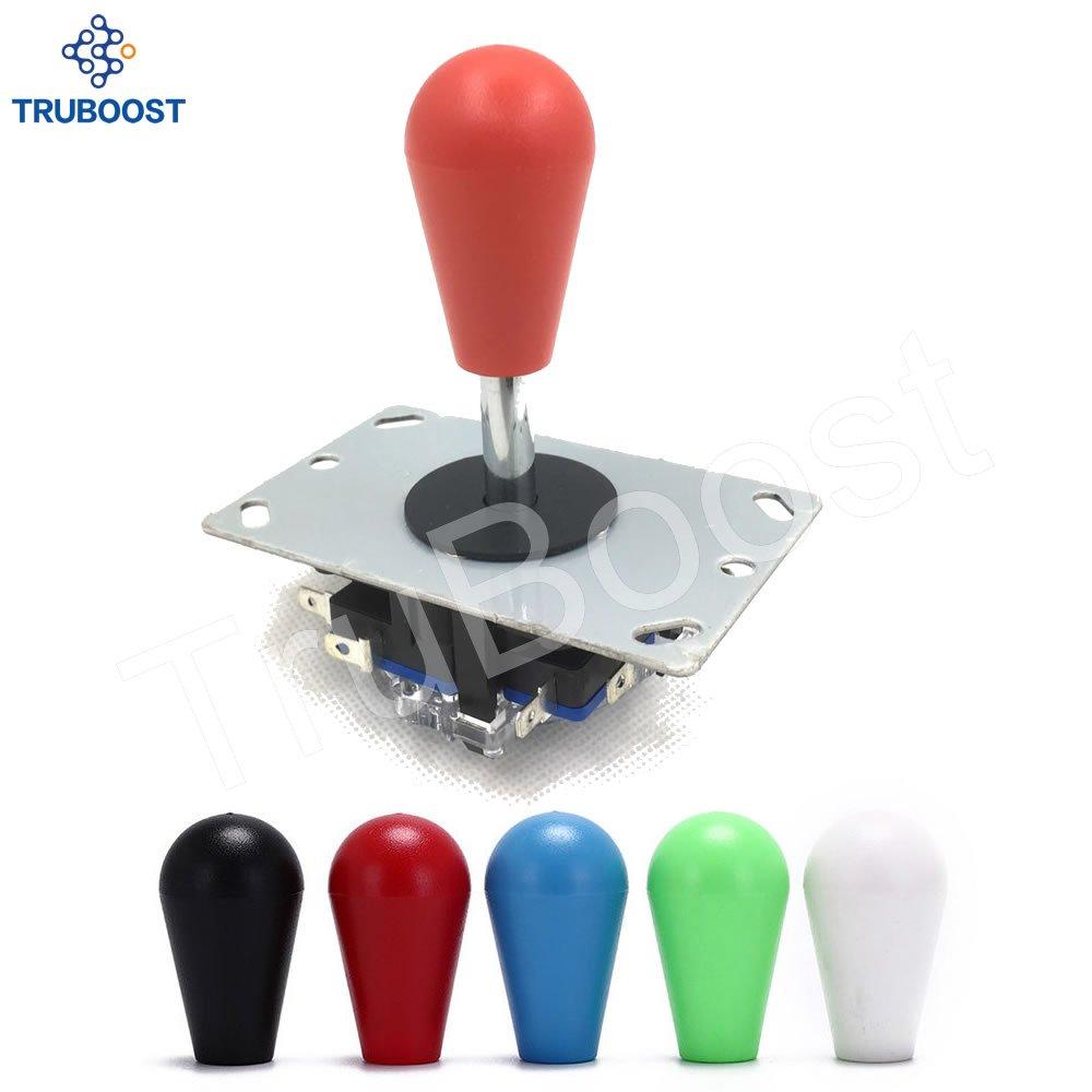 Classic 2//4//8 Way Arcade Game Pick Zippyy JoyStick 6 Colors Balltop DIY Parts