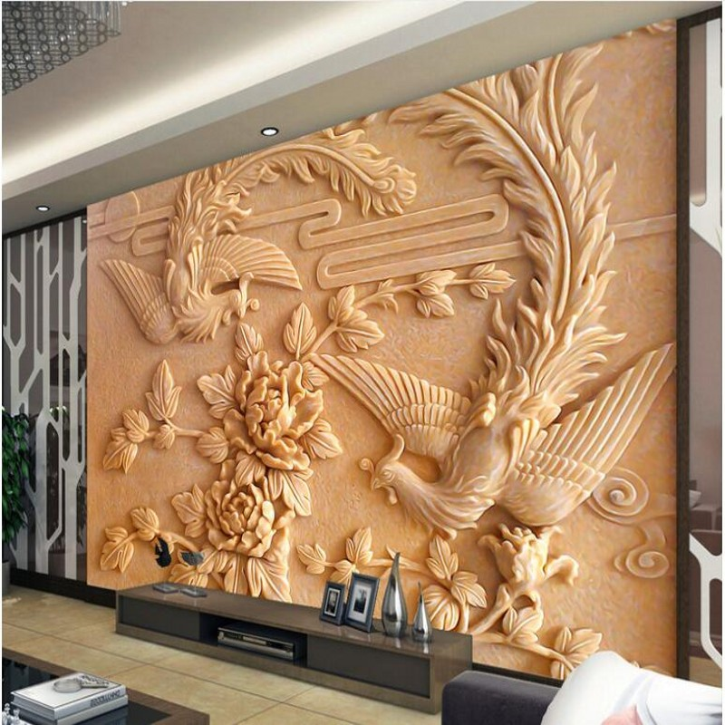 Can Be Customized Large Scale Mural 3d Wallpaper Wall: Beibehang Custom Large Scale Murals Large Scale Chinese