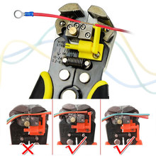 Multifunctional 0.2-6.0mm Wire Stripper Automatic Crimper Cable Cutter Crimping Stripping Pliers Hand Tools