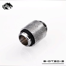 BYKSKI G1/4″ Male to Male 360 degree Rotary Connectors / Extender fitting Computer Accessories M to M Fittings B-DTSO-S
