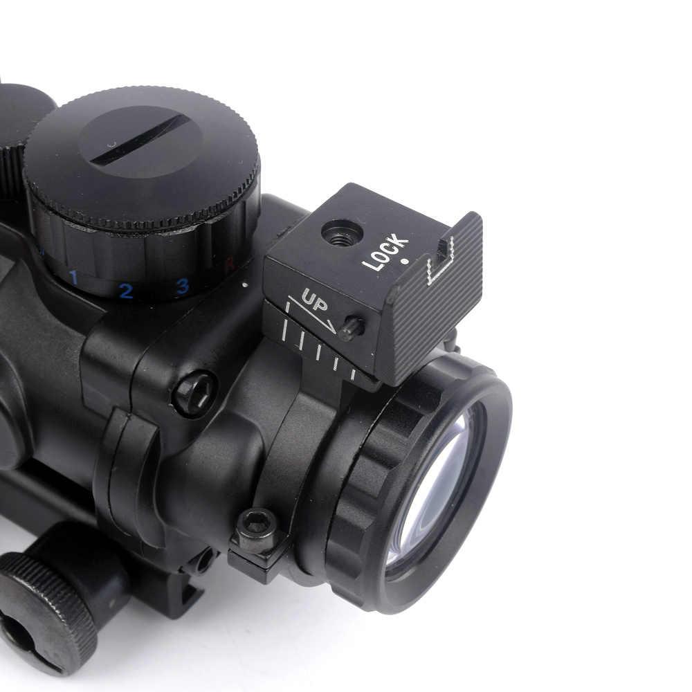 WIPSON بندقية Riflescope الفريق التعاوني 4x32 بندقية نطاق شبكاني الألياف البصرية النطاق البصري بندقية/الادسنس بندقية الصيد airsoftsports بندقية