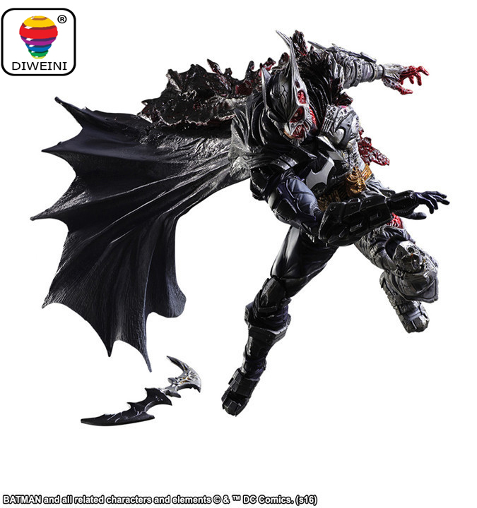 DIWEINI Play Arts Kai DC Cartoon The Thief Series Batman Limited Edition Boxed Action Figures model toys for children kids gift