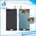 5 pçs/lote frete grátis peças de reposição para samsung galaxy note 4 n9100 lcd screen display com tela de toque digitador